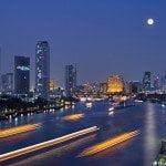 Bangkok Night Panorama