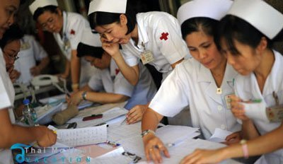 king-chulalongkorn-hospital-bangkok-nurses
