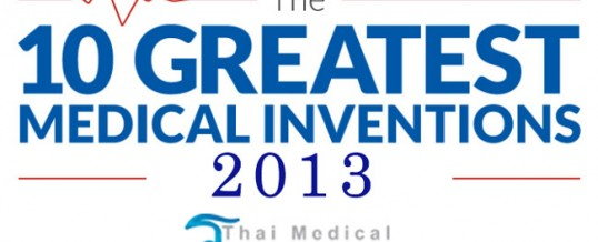 The Top 10 Medical Inventions Around The World in 2013