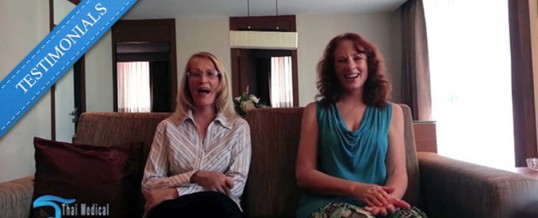 Marilyn and Diana from San Diego Discuss Their Recent Medical Vacation