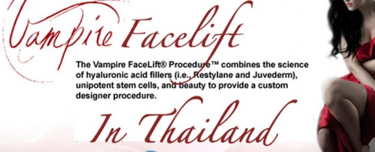 The Vampire Facelift in Thailand | HA Filler and PRP