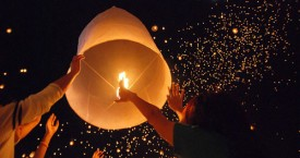 Chiang Mai Candle Lantern Release Dates for 2013