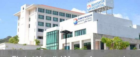 Bangkok Hospital Purchases Phuket International